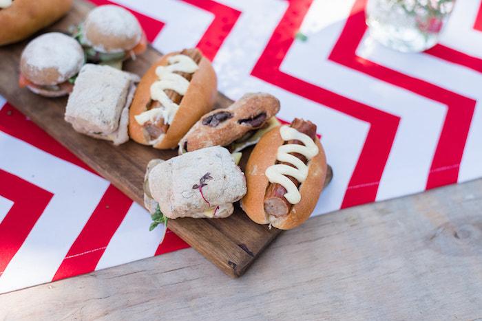 Food Platter from a Teddy Bear Picnic Birthday Party on Kara's Party Ideas | KarasPartyIdeas.com (1)
