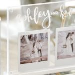 Acrylic Wedding Centerpiece or Table Number. Modern Idea by Kara's Party Ideas. instax FUJIFILM Printer-8