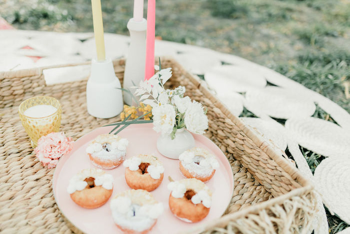 Mini Donuts from an Alpaca Love Birthday Party on Kara's Party Ideas | KarasPartyIdeas.com (46)