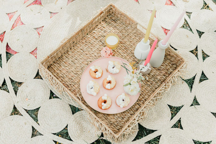 Mini Boho Donuts from an Alpaca Love Birthday Party on Kara's Party Ideas | KarasPartyIdeas.com (56)