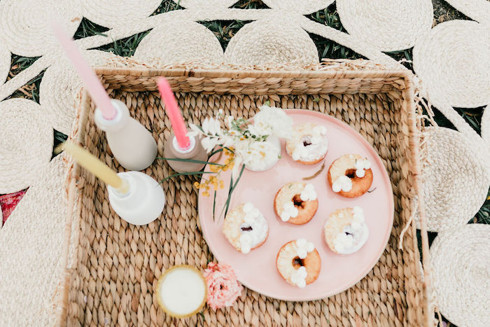 Mini Boho Donuts from an Alpaca Love Birthday Party on Kara's Party Ideas | KarasPartyIdeas.com (29)