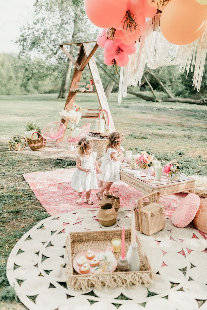 Boho Beauties from an Alpaca Love Birthday Party on Kara's Party Ideas | KarasPartyIdeas.com (16)