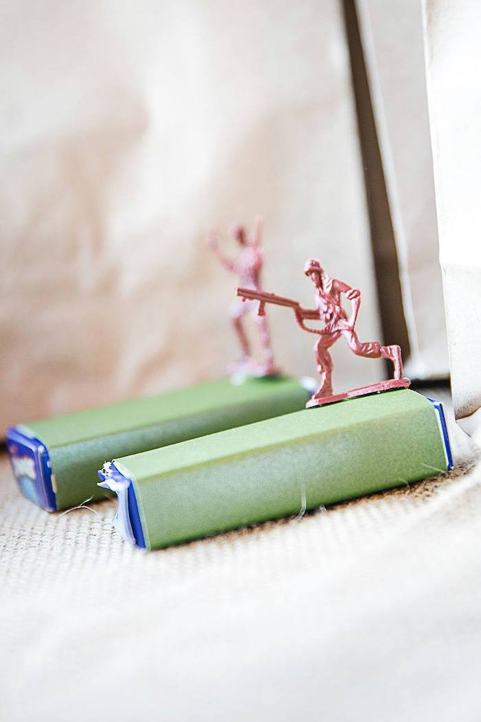 Army Party Favors from a Army Military Birthday Party on Kara's Party Ideas | KarasPartyIdeas.com (15)