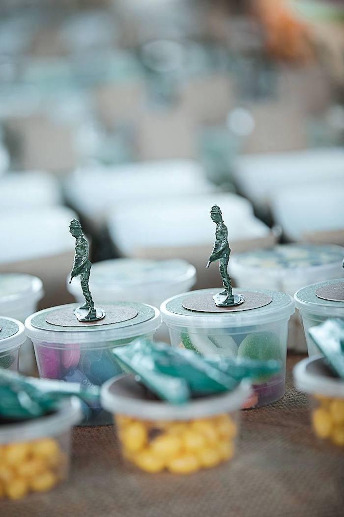 Army Men Favor Cups from an Army Military Birthday Party on Kara's Party Ideas | KarasPartyIdeas.com (21)