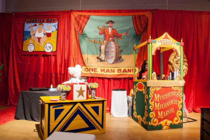 Circus Stands + Signage from a Circus Themed Bat Mitzvah on Kara's Party Ideas | KarasPartyIdeas.com (27)