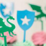 Colorful Dragon Birthday Party on Kara's Party Ideas | KarasPartyIdeas.com (2)
