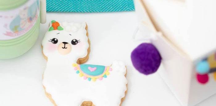 Colorful Llama and Cactus Birthday Party on Kara's Party Ideas | KarasPartyIdeas.com (4)