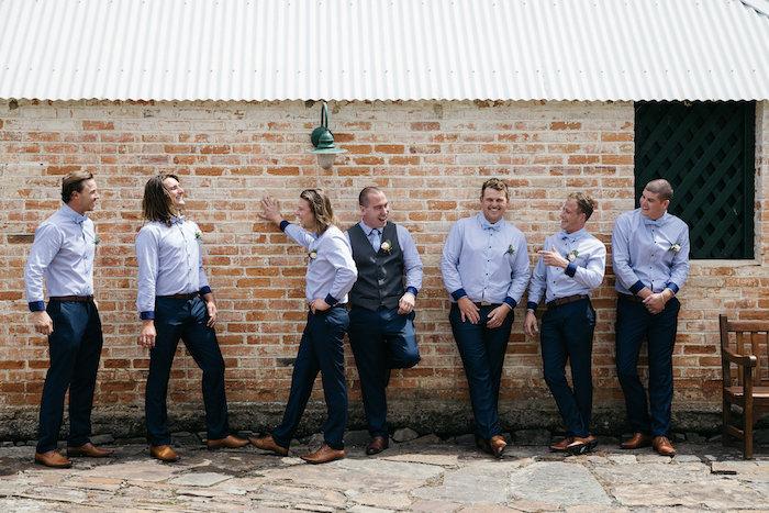 Groom & Groomsmen from a Country Boho Wedding on Kara's Party Ideas | KarasPartyIdeas.com (36)