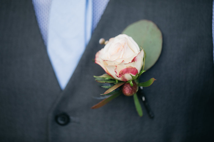 Rustic Boutonniere from a Country Boho Wedding on Kara's Party Ideas | KarasPartyIdeas.com (35)