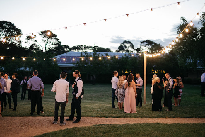 Outdoor Lighting + String Lights from a Country Boho Wedding on Kara's Party Ideas | KarasPartyIdeas.com (7)