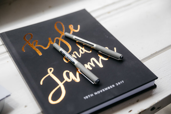 Lettered Guest Book from a Country Boho Wedding on Kara's Party Ideas | KarasPartyIdeas.com (31)