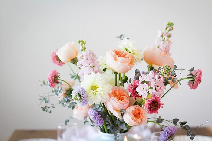 Spring Blooms from a DIY Sunny Spring Tablescape on Kara's Party Ideas | KarasPartyIdeas.com (17)