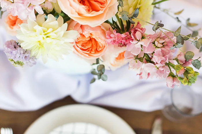 Spring Blooms from a DIY Sunny Spring Tablescape on Kara's Party Ideas | KarasPartyIdeas.com (16)