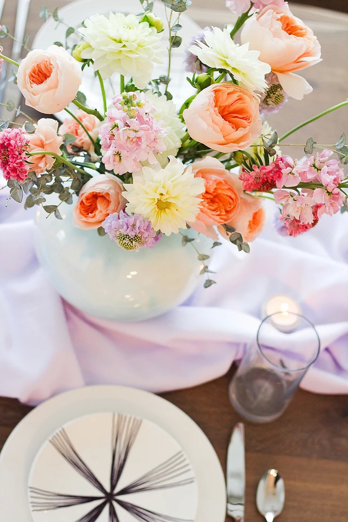 Spring Blooms from a DIY Sunny Spring Tablescape on Kara's Party Ideas | KarasPartyIdeas.com (13)