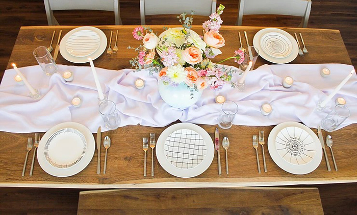 DIY Sunny Spring Tablescape on Kara's Party Ideas | KarasPartyIdeas.com (11)