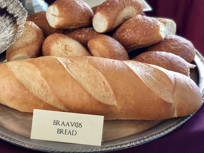 Braavos Bread from a Game of Thrones Party on Kara's Party Ideas | KarasPartyIdeas.com (13)