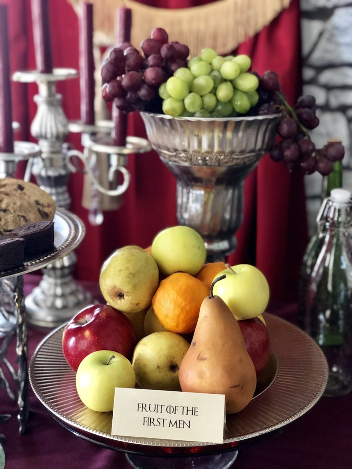Fruit of the First Men from a Game of Thrones Party on Kara's Party Ideas | KarasPartyIdeas.com (11)