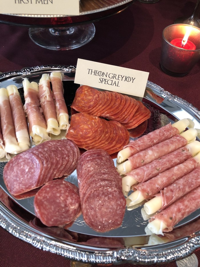 Theon Greyjoy Special + Meat Tray from a Game of Thrones Party on Kara's Party Ideas | KarasPartyIdeas.com (29)