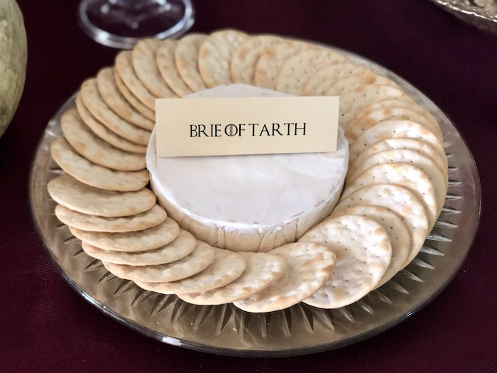 Brie of Tarth from a Game of Thrones Party on Kara's Party Ideas | KarasPartyIdeas.com (9)