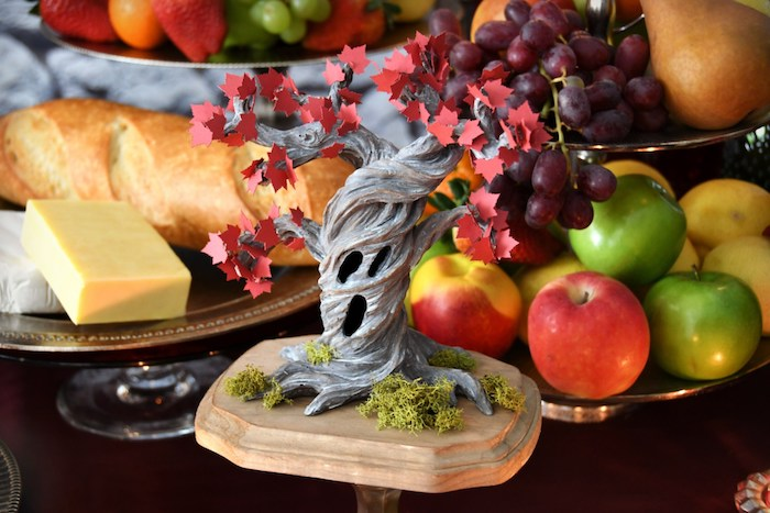 Heart Tree from a Game of Thrones Party on Kara's Party Ideas | KarasPartyIdeas.com (27)