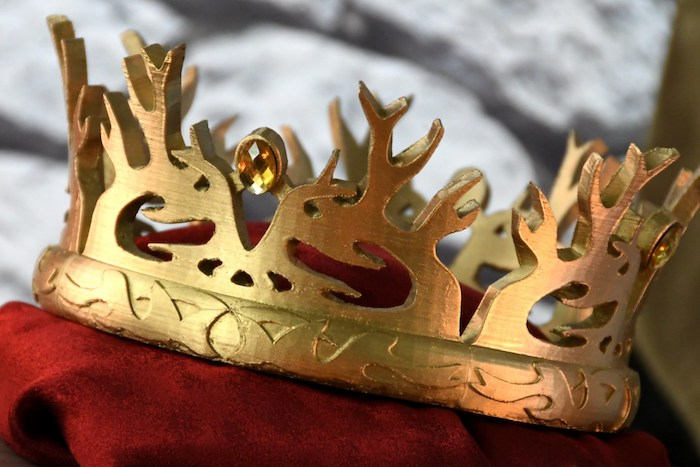Joffrey Baratheon's Crown from a Game of Thrones Party on Kara's Party Ideas | KarasPartyIdeas.com (26)