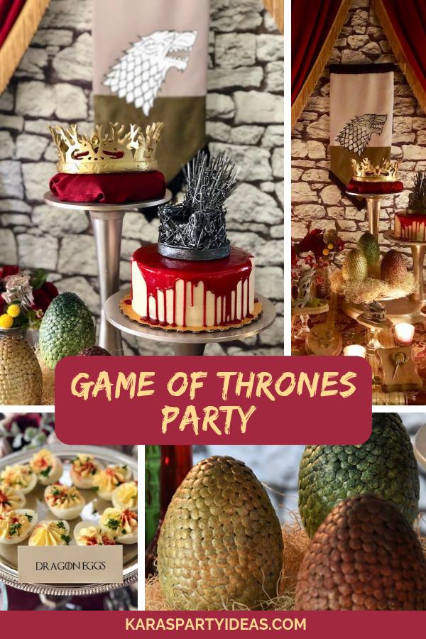 Game of Thrones Party via Kara's Party Ideas - KarasPartyIdeas.com