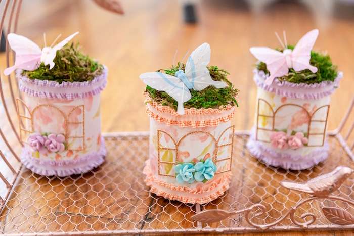 Garden-inspired Favors from a Garden First Birthday Party on Kara's Party Ideas | KarasPartyIdeas.com (20)