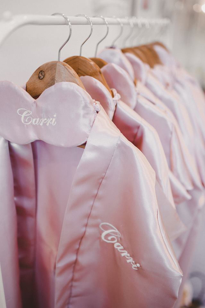 Personalized Spa Robes & Masks from a Girls' Day Out Spa Birthday Party on Kara's Party Ideas | KarasPartyIdeas.com (8)