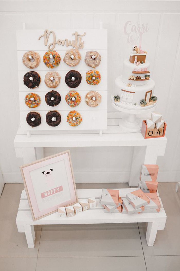 Spa Themed Sweet Bar from a Girls' Day Out Spa Birthday Party on Kara's Party Ideas | KarasPartyIdeas.com (7)