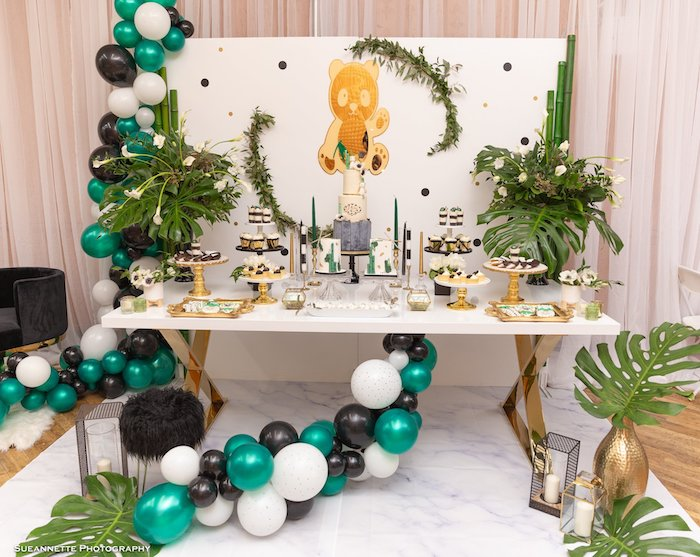 Gold Panda Baby Shower on Kara's Party Ideas | KarasPartyIdeas.com (16)