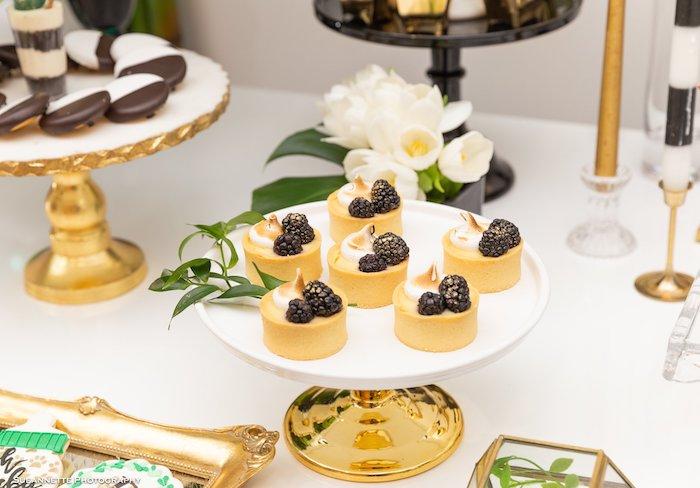 Dessert Tarts from a Gold Panda Baby Shower on Kara's Party Ideas | KarasPartyIdeas.com (29)