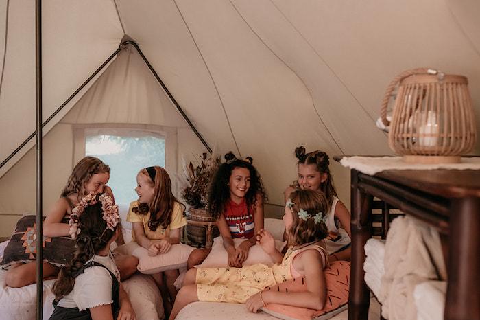 Luxe Bohemian Sleepover Party on Kara's Party Ideas | KarasPartyIdeas.com (6)