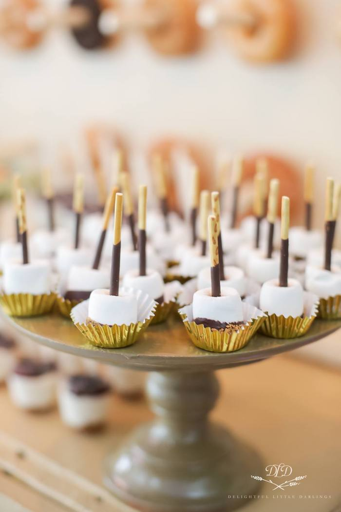 Safari Marshmallow Pops from a Madagascar Birthday Party on Kara's Party Ideas | KarasPartyIdeas.com