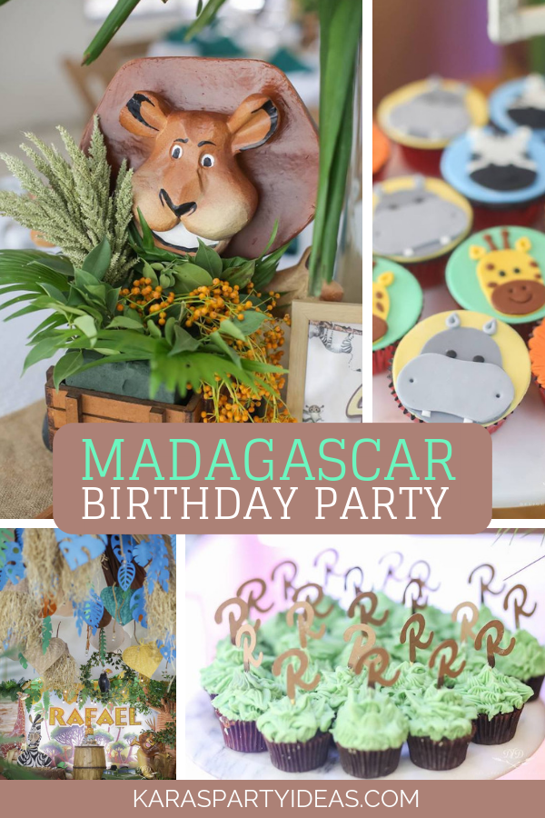 Madagascar Birthday Party via Kara's Party Ideas - KarasPartyIdeas.com