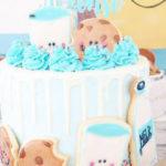 Milk & Cookies Baptism Party on Kara's Party Ideas | KarasPartyIdeas.com (4)