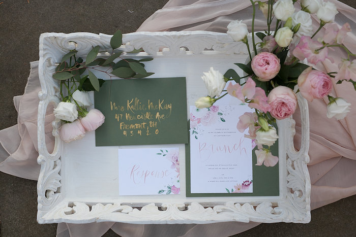 Floral Brunch Invite + Stationery from a Mother's Day Garden Brunch on Kara's Party Ideas | KarasPartyIdeas.com (45)
