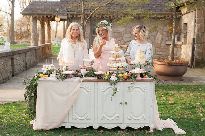 Dessert Bar from a Mother's Day Garden Brunch on Kara's Party Ideas | KarasPartyIdeas.com (12)