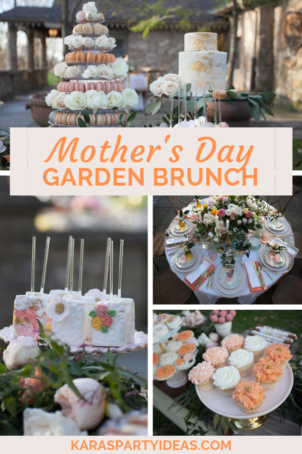 Mother's Day Garden Brunch via Kara's Party Ideas - KarasPartyIdeas.com