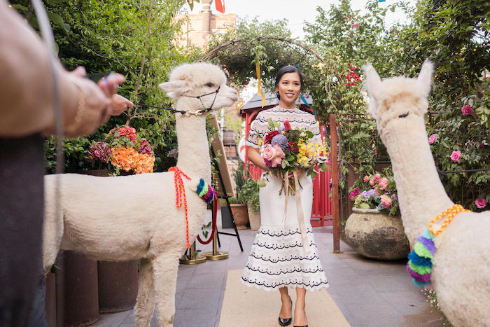 Peruvian Alpaca Inspired Wedding on Kara's Party Ideas | KarasPartyIdeas.com (13)