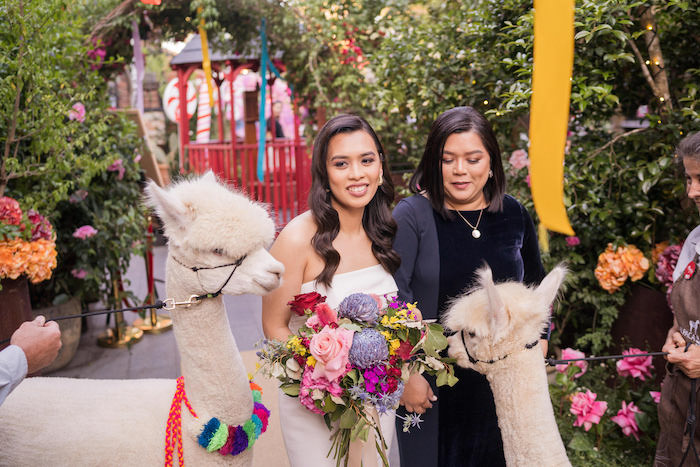 Peruvian Alpaca Inspired Wedding on Kara's Party Ideas | KarasPartyIdeas.com (10)