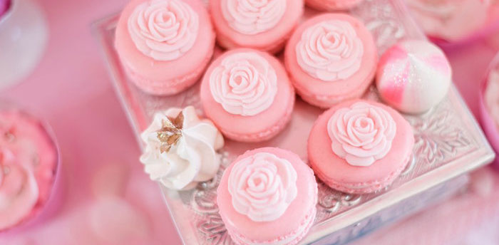 Pink Princess Birthday Party on Kara's Party Ideas | KarasPartyIdeas.com (2)