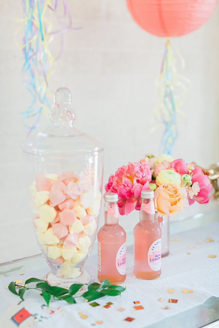 Sweets, drinks + blooms from a Pretty Alpaca Party on Kara's Party Ideas | KarasPartyIdeas.com (27)