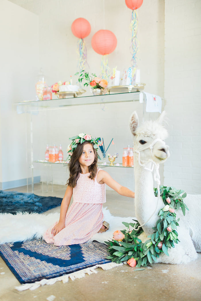 Pretty Alpaca Party on Kara's Party Ideas | KarasPartyIdeas.com (21)