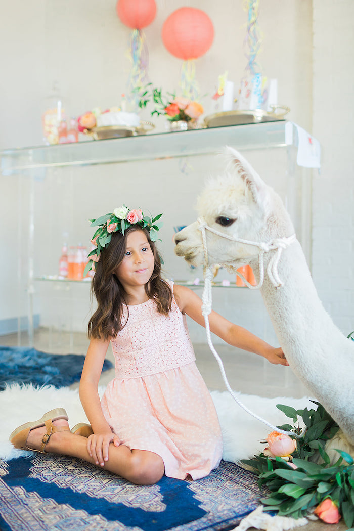 Pretty Alpaca Party on Kara's Party Ideas | KarasPartyIdeas.com (20)