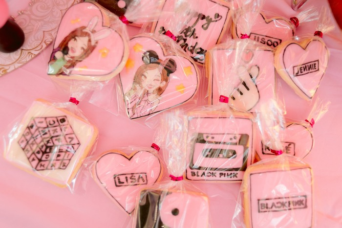Cookies from a Spa Day Birthday Party on Kara's Party Ideas | KarasPartyIdeas.com (19)