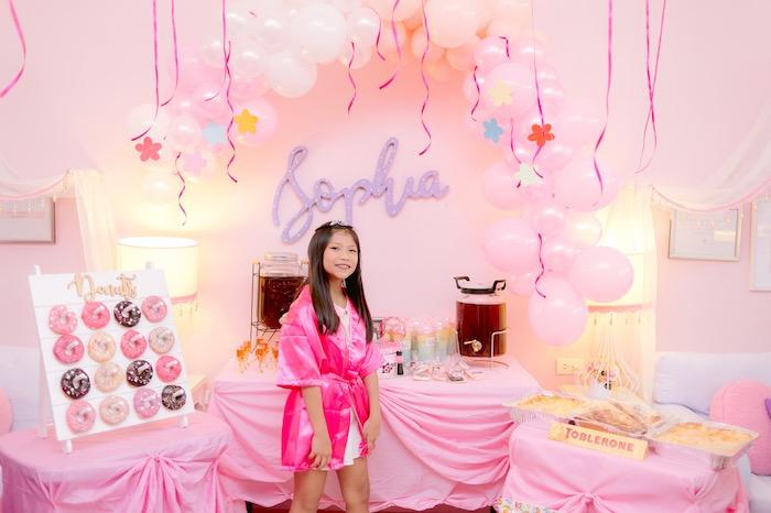Spa Day Birthday Party on Kara's Party Ideas | KarasPartyIdeas.com (12)