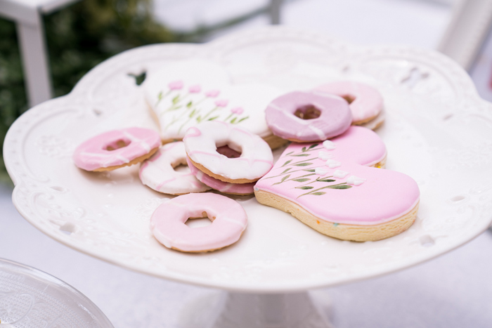 Garden Cookies from a Spring Woodland Little Deer Birthday Party on Kara's Party Ideas | KarasPartyIdeas.com (8)