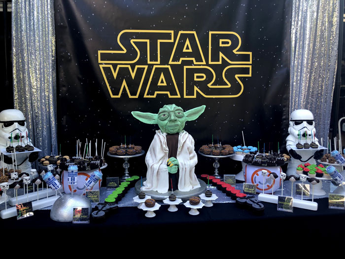 Star Wars Birthday Party on Kara's Party Ideas | KarasPartyIdeas.com (12)