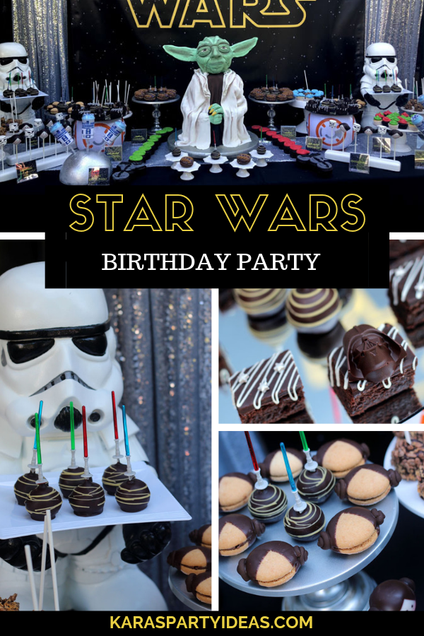 Star Wars Birthday Party via Kara's Party Ideas - KarasPartyIdeas.com