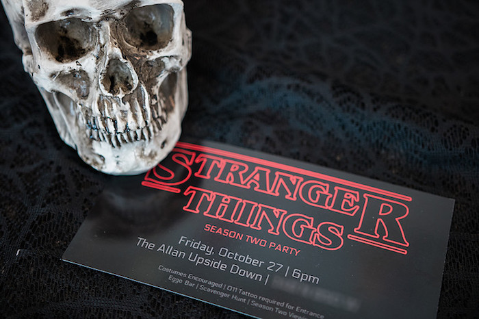 Stranger Things Party Invite from a Stranger Things Viewing Party on Kara's Party Ideas | KarasPartyIdeas.com (6)